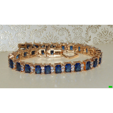 xp браслет (01-67) синий 1шт.