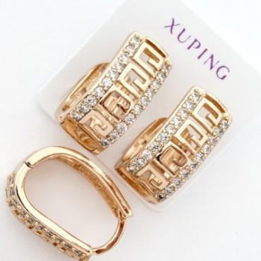 xp сережки (01-12) золото 1шт.