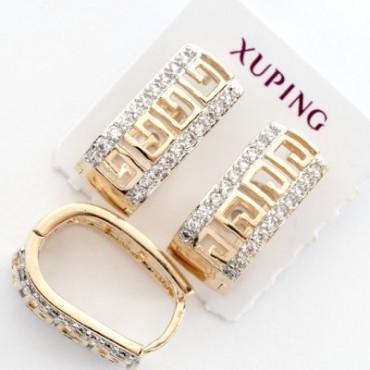 xp сережки (01-12) большие 1шт.