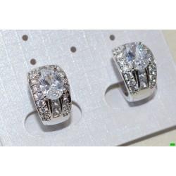 xp сережки (01-70) серебро 1шт.