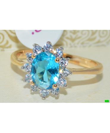 xp кольцо (01-26) бирюза 1шт.