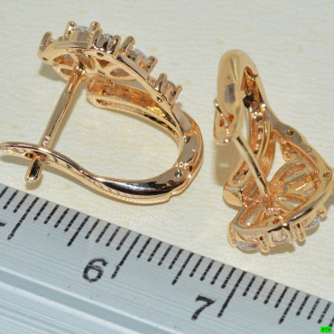 xp сережки (01-36) золото 1шт.