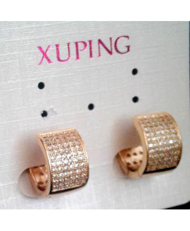xp сережки (02-08) золото 1шт.