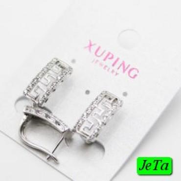 xp сережки (01-75) серебро 1шт.