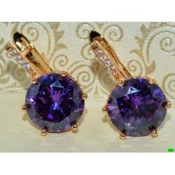 xp сережки (01-61) фиолет 1шт.