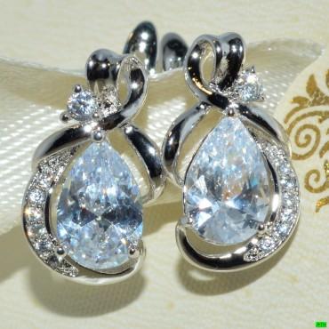 xp сережки (01-59) серебро 1шт.