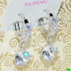 xp сережки (02-40) серебро 1шт.