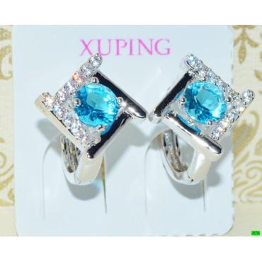 xp сережки (02-53) серебро 1шт.