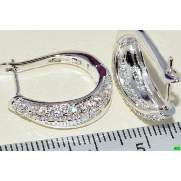 xp сережки (01-83) серебро 1шт.