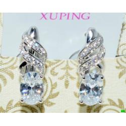 xp сережки (02-20) серебро 1шт.