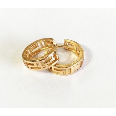 xp сережки (01-50) золото 1шт.