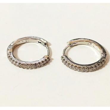 xp сережки (02-16) серебро 1шт.