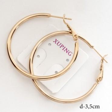 xp сережки (01-90) малые 1шт.