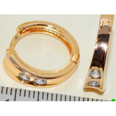 xp сережки (01-29) золото 1шт.