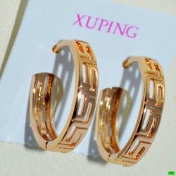 xp сережки (02-23) золото 1шт.