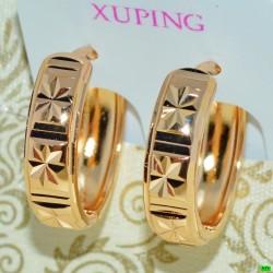 xp сережки (02-96) золото 1шт.