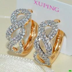 xp сережки (02-36) золото 1шт.