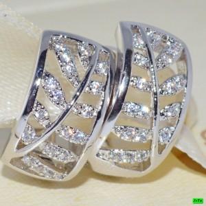 Сережки XUPING серебро