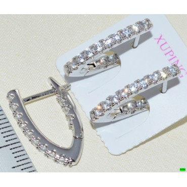 xp сережки (01-99) серебро 1шт.