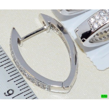 xp сережки (03-20) большие 1шт.