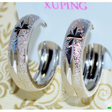 xp сережки (02-96) серебро 1шт.