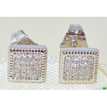 xp сережки (00-99) серебро 1шт.