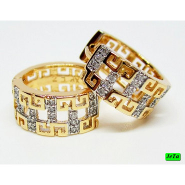xp сережки (01-46) золото 1шт.