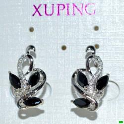 xp сережки (02-14) серебро 1шт.