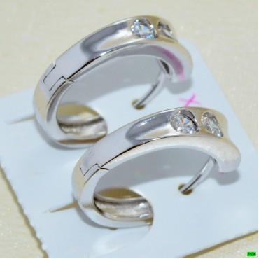 xp сережки (01-29) серебро 1шт.