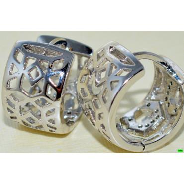xp сережки (02-94) серебро 1шт.