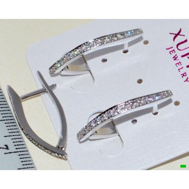 xp сережки (01-97) малые 1шт.