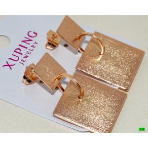 Серёжки XUPING золото