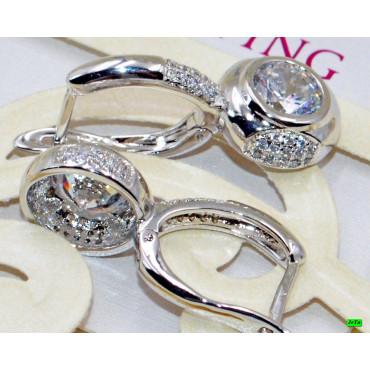 xp сережки (01-49) серебро 1шт.