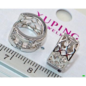 xp сережки (01-46) серебро 1шт.