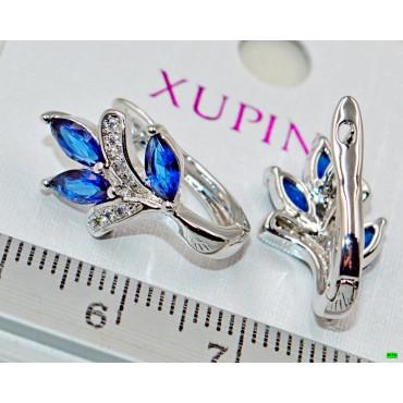 xp сережки (02-33) серебро 1шт.