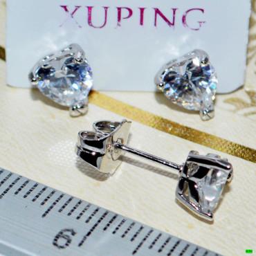 xp сережки (00-85) серебро 1шт.