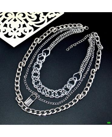 кулон (01-56) серебро 1шт.