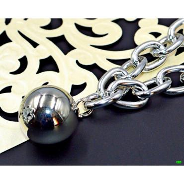 кулон (01-57) серебро 1шт.