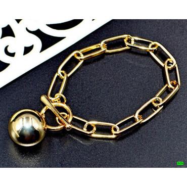 браслет (02-26) золото 1шт.