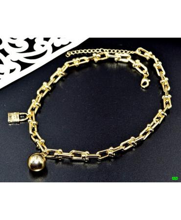 кулон (01-58) золото 1шт.