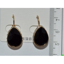 серьги (07-76) чёрный 1шт.