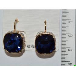 серьги (07-77) синий 1шт.