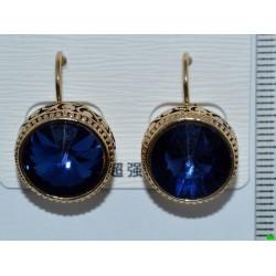 серьги (07-79) синий 1шт.