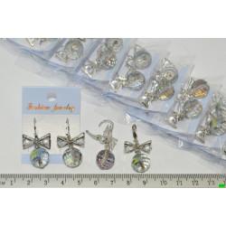 серьги (07-80) серебро 4шт.