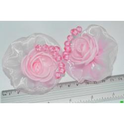 бантик (01-20) розовый 2шт.