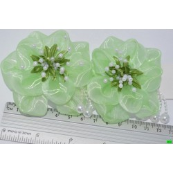 бантик (01-05) зелений 2шт.