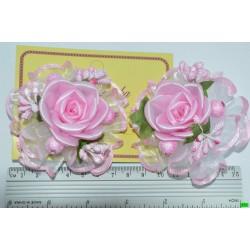 бантик (01-08) розовый 2шт.