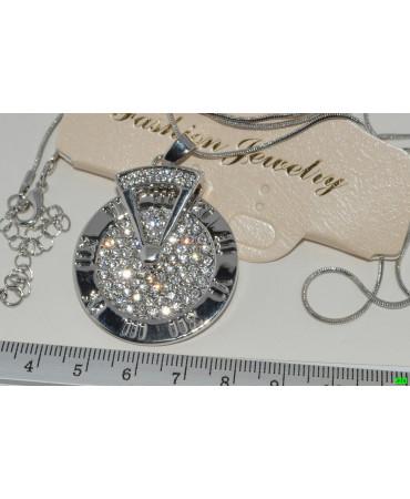кулон (02-35) серебро 1шт.