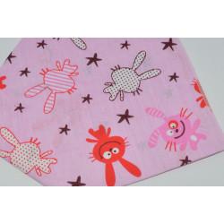 бандана-косынка (01-34) розовый 1шт.