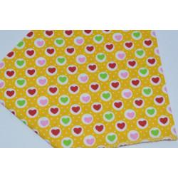 бандана-косынка (01-35) жёлтый 1шт.